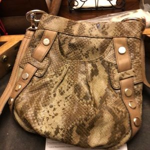 ❤️ b makowsky animal print bag